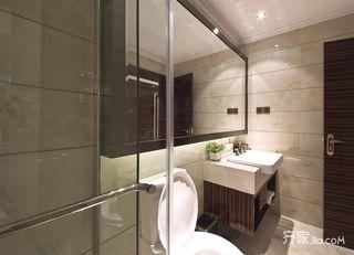 150平四居室中式韵味之家主卧卫生间效果图