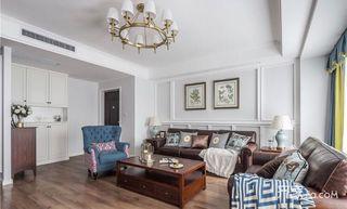 150平欧式风格装修客厅效果图