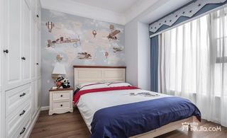 150平欧式风格装修儿童房效果图