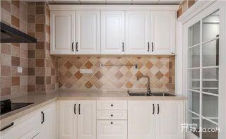 150平欧式风格装修厨房构造图