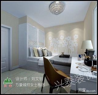 二居室欧式风格家次卧欣赏图