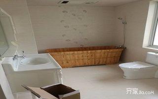 80㎡混搭风格装修卫生间设计图