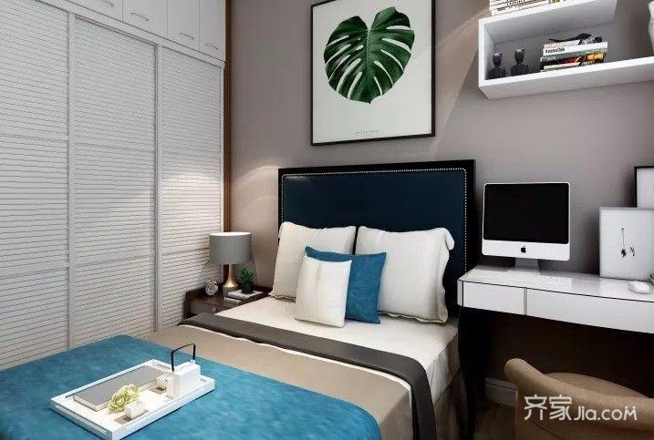 108平欧式风格家卧室效果图