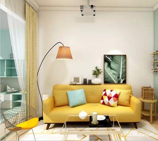 50平小户型设计客厅效果图