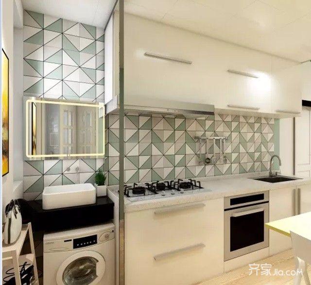 50平小户型设计厨房装潢图