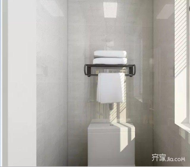 50平小户型设计卫生间效果图