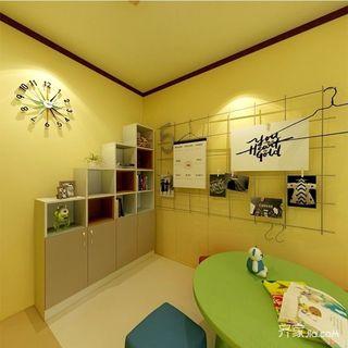 简约三居室装修新人儿童房效果图