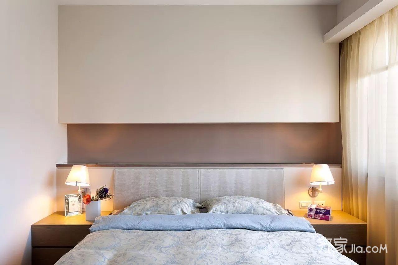 67平简约风格装修卧室设计图