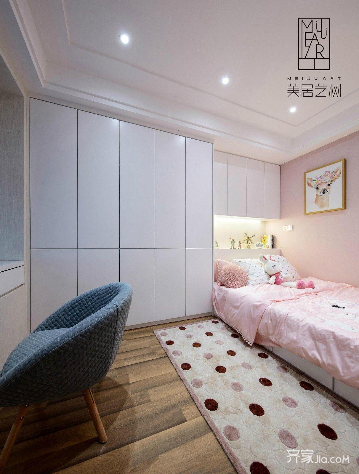 欧式二居室样板间儿童房设计图