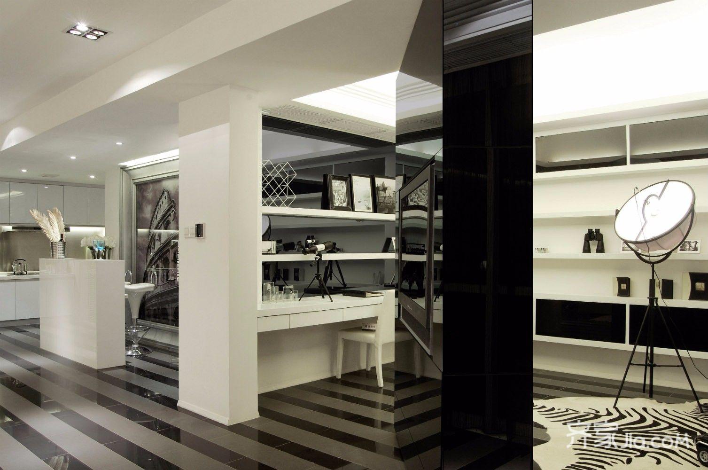 130平简约风格装修客厅欣赏图