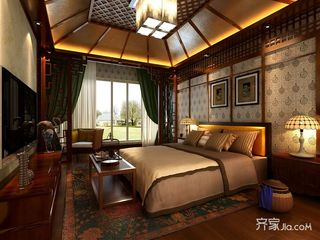 360平中式别墅装修 传统国人的家规