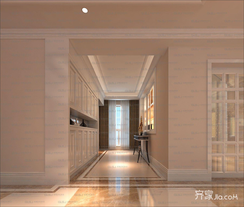 三居室欧式精装修门厅图片