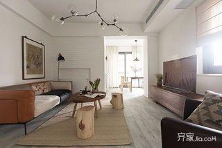 160平现代简约风格装修 材质与空间的完美融合