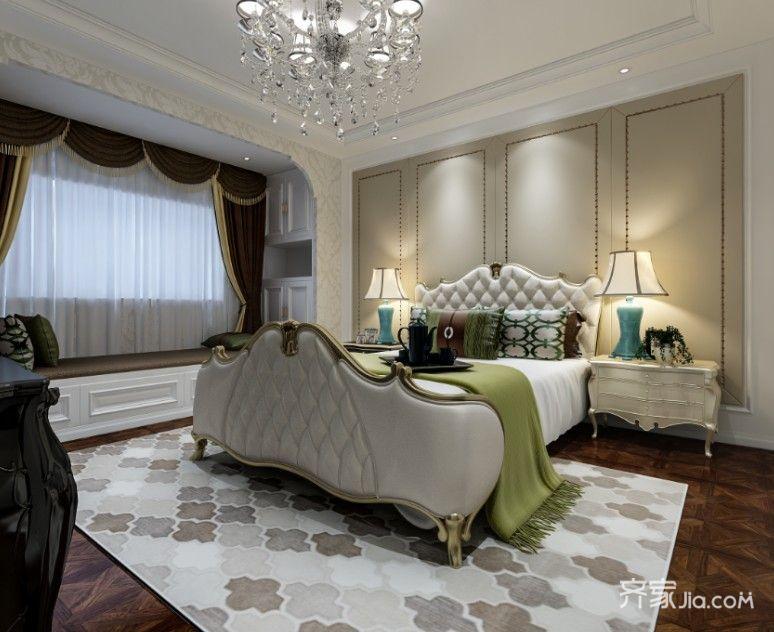 大户型欧式风格装修卧室装潢图
