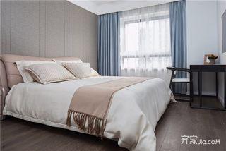 125平美式三居室装修卧室效果图