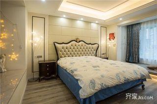 145平米法式风格四房装修卧室布置图