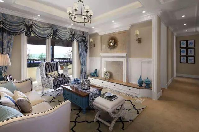 地中海式装修风格效果图 我的家中有一抹蓝色