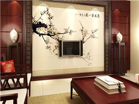 家装电视背景墙主流风  让电视背景墙设计更出众