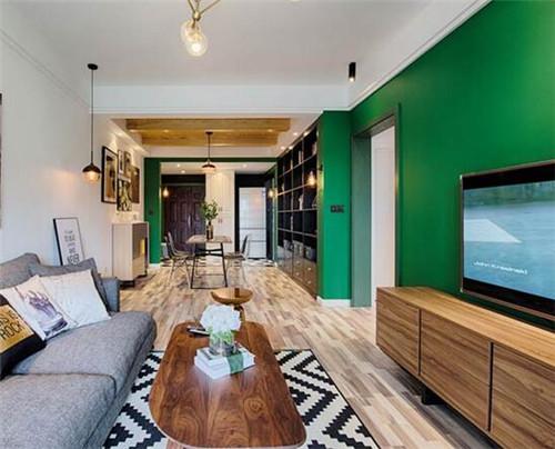 70平米房屋装修效果图 70平混搭北欧风格装修案例