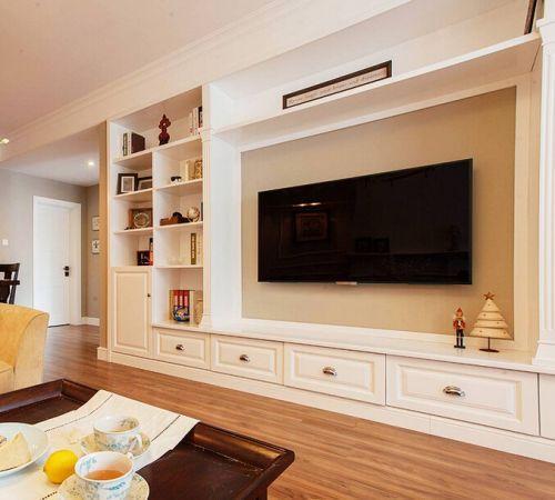 电视背景墙装修材料哪种好 2018最流行的电视墙造型