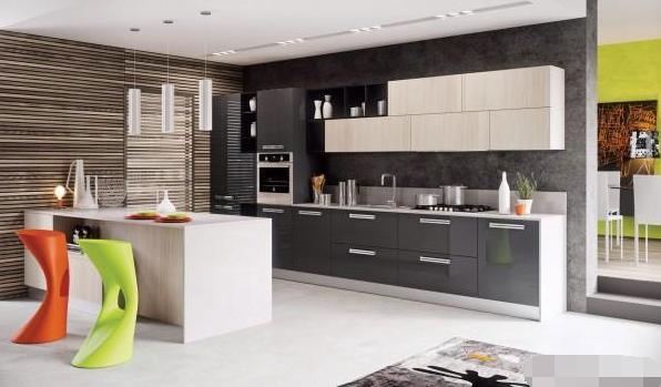 四种小户型厨房设计,你家也可以这么有格调