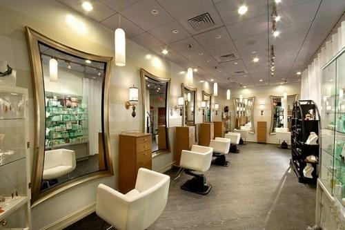 美发店装修风格有几种 美发店装修的注意事项图片