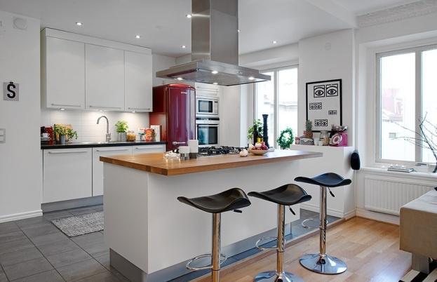 厨房中岛能否代替餐桌