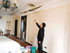 天花板漏水怎么办 天花板漏水的原因有哪些