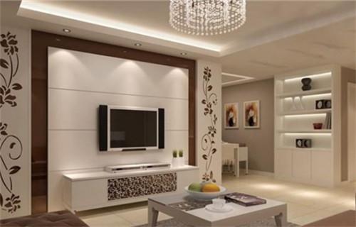 新款电视墙装修效果图 流行时尚新潮流