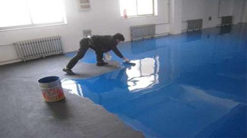 地坪漆施工工艺流程 地坪漆优点