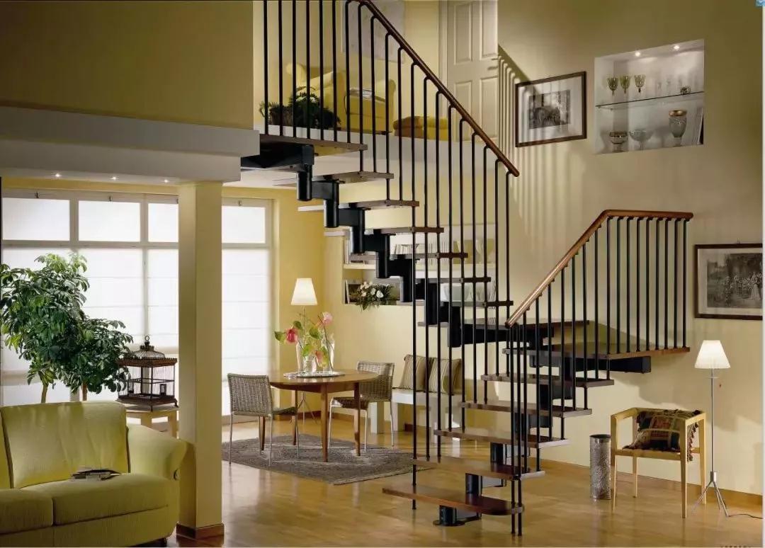 15款复式楼梯装修效果图