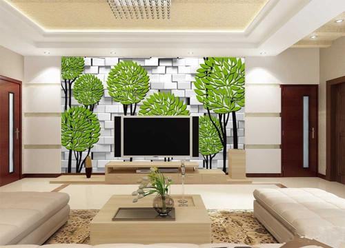 什么材料做电视墙最好:墙纸,壁布