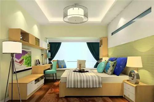 主卧飘窗设计效果图 让室内储物空间更强大图片