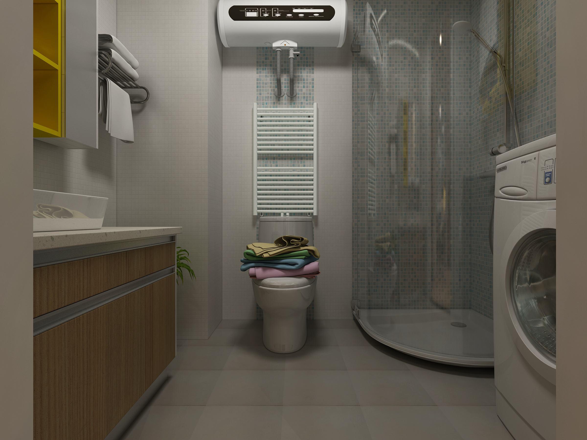 厕所浴霸电路图