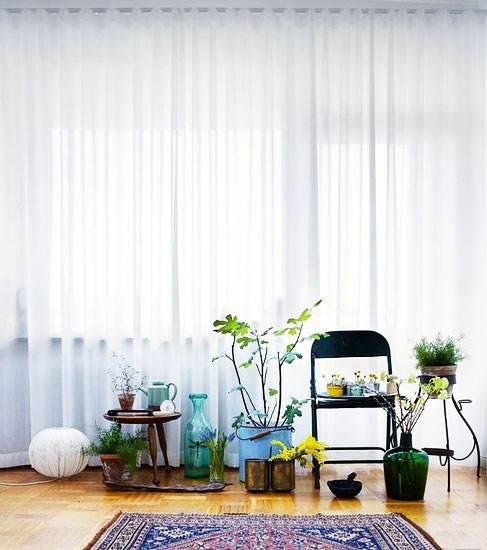 窗帘带来的风景,是随风飘扬的美好期许