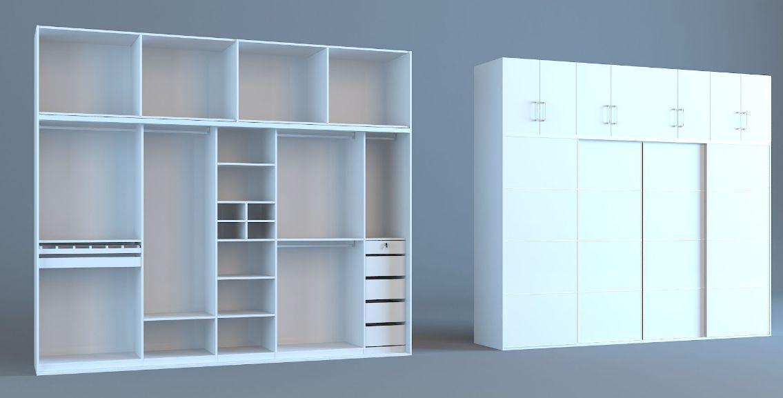 卧室衣柜如何设计 衣柜内部结构解析