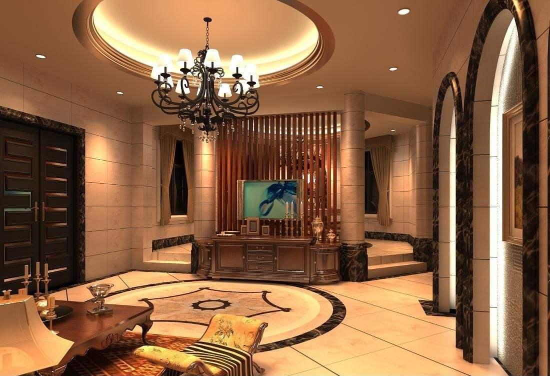欧式别墅装修要做好别墅装修的八大房价都别墅技巧凤城郦清远图片