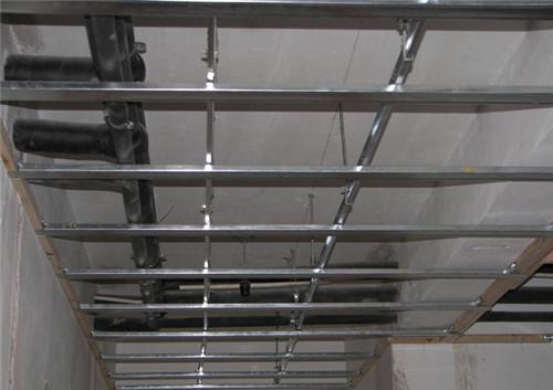 室内吊顶怎么吊的 轻钢龙骨纸面石膏板施工步骤