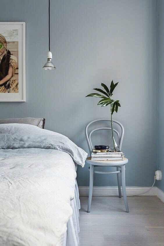 各种蓝的床头背景墙设计,太喜欢了!
