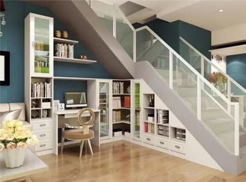 楼梯下面装修设计方案 五款绝佳楼梯下面装修方案
