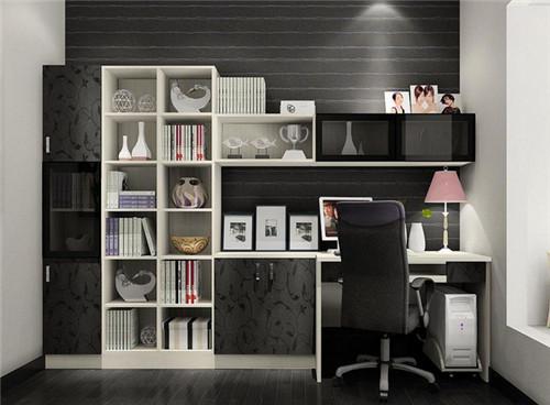 书柜电脑桌一体图片 2018强烈推荐的7款书柜电脑桌图片