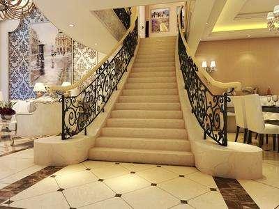 资讯 学堂 装修施工 施工流程 正文  复式楼的楼梯一般都是在客厅的图片