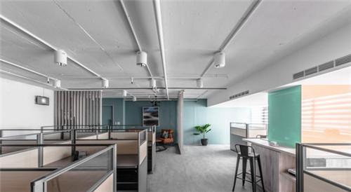 办公室装修效果图 兼具时尚与美观的办公室设计