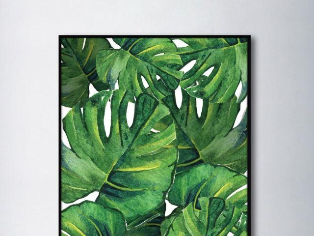 后门种草|没有装饰画的墙就像在裸奔,八种基本款带你装出北欧风图片
