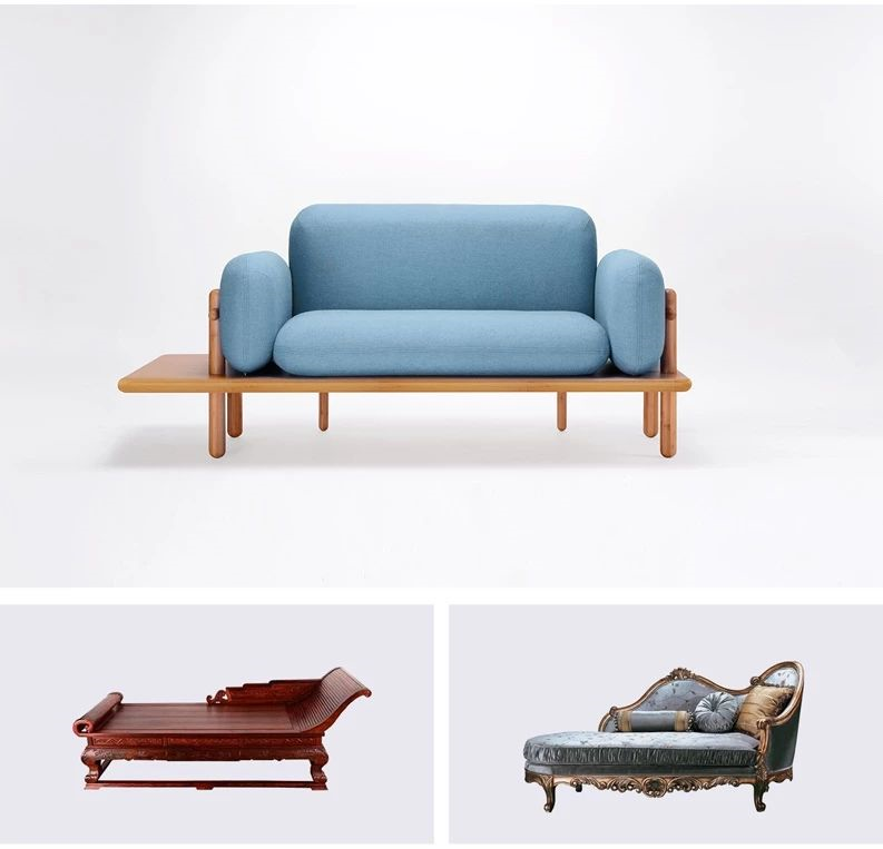 墙体裂缝仺(iy��y�b_piy丨装在盒子里,自带边几的沙发你见过吗?