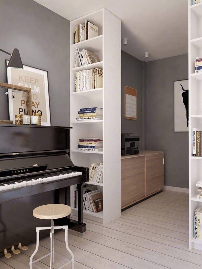 65平精巧公寓装修,小而美!