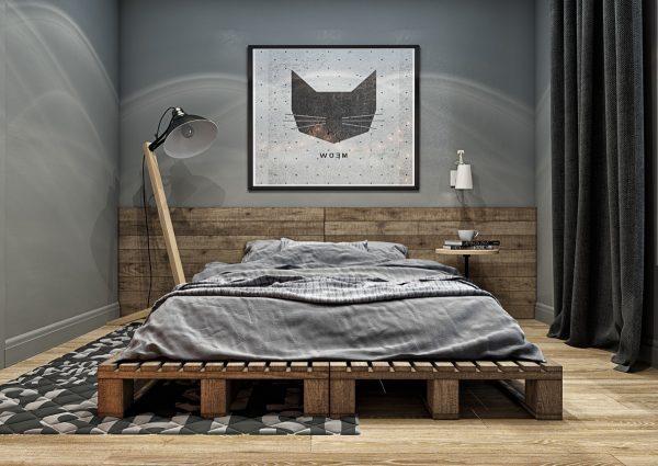 装修问答 热门问题 创意背景墙  将卧室装饰的美美的,当我们睡觉的图片