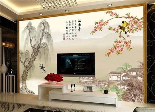 中式装修电视背景墙 不得不知的注意事项盘点图片