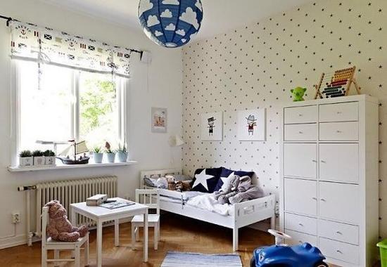 为了宝宝的安心成长 你应该把房子婴儿房装成……