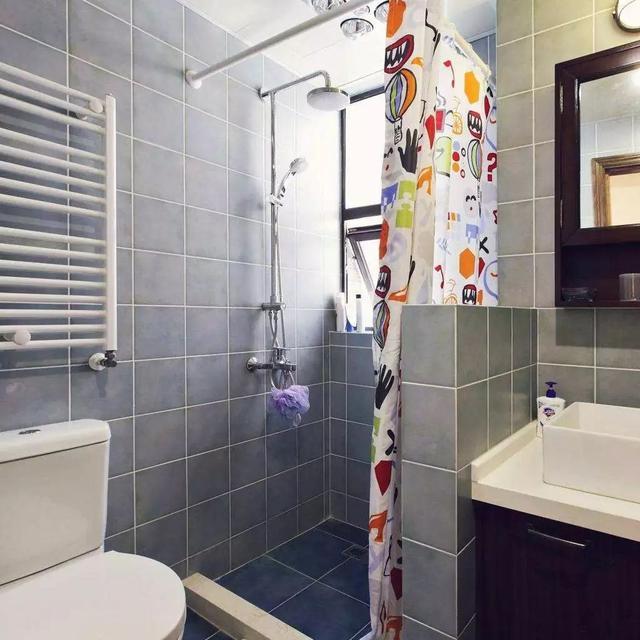 小户型卫生间干湿分离的经典案例,必有一款打动你